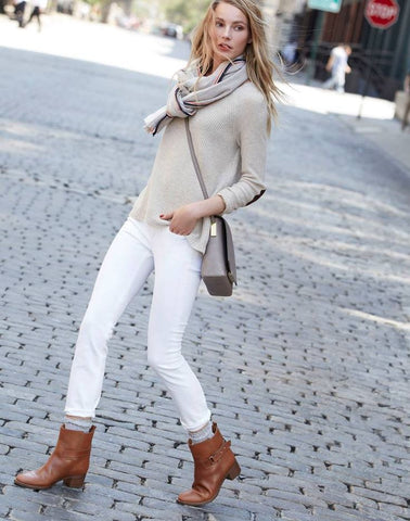 Pair It Up With A Skinny White Denim