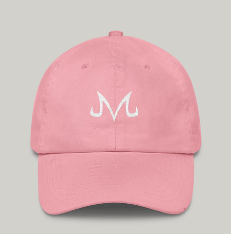 Majin Unstructured Cap Pink