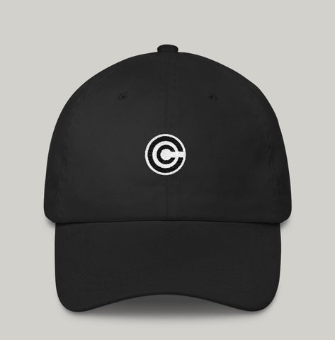 new capsule corp logo dad hat