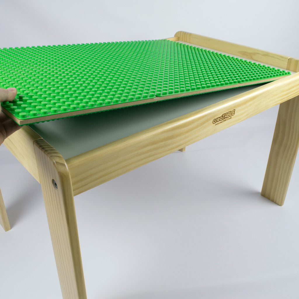 creaTABLE Activity Tables - Compatible with Lego and Duplo