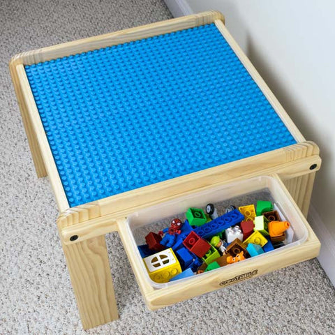 Creation Table With Storage Lego Duplo Compatible Activity Table   CreaTABLE