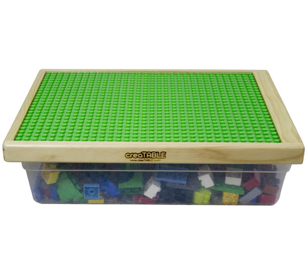 Duplo Compatible Table Top with Storage - creaTABLE