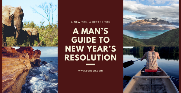 New Years Resolution Guide for Men