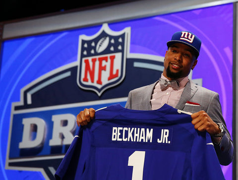 Odell Beckham Jr Draft Day 2014/ Photo Espn
