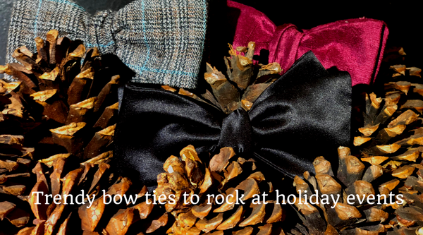 Trendy Bow Ties for Holiday Events