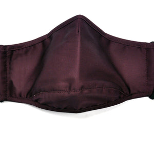 Burgundy Fashionable Face Cover withDroplet & Anti-Viral protection