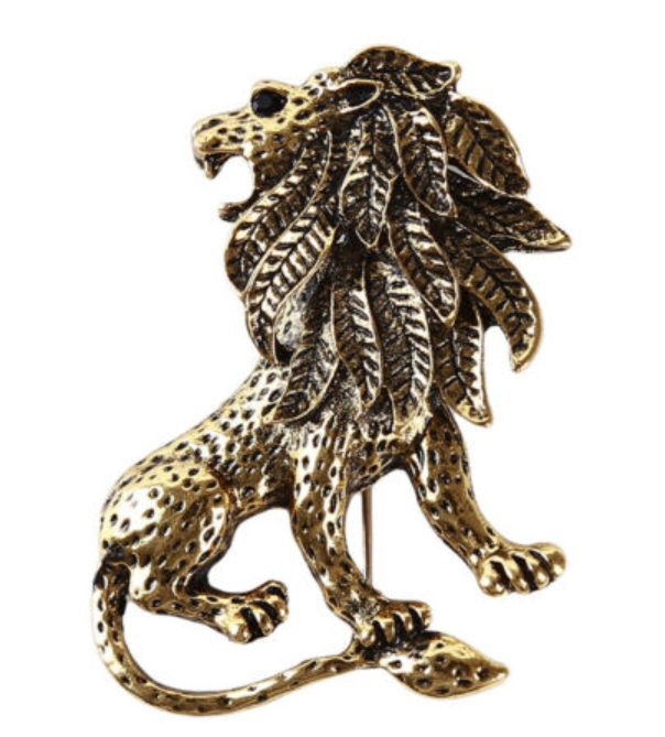 Royal Lion Lapel Pin - SONSON