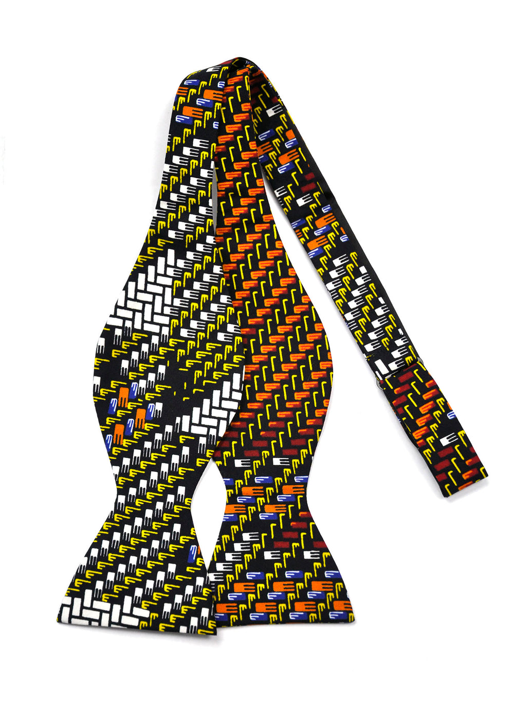 Honeycomb African Print Bow Tie - SONSON