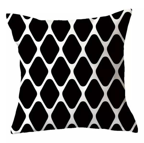 Black and White Velvet Koi Pillow - SONSON®