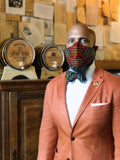Dapper Non Surgical Honeycomb Fashion Mask and Bow Tie Set - SONSON