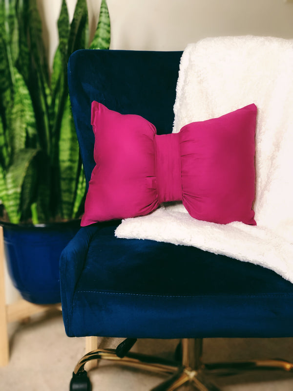 Set of 2 Sinora Bow Tie Lumbar Pillow - SONSON®