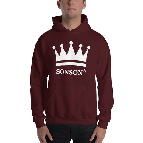 Crown Me Hooded Sweatshirt - SONSON