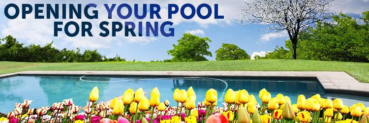 Time to open up your pool for the season