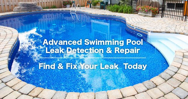 Locate and fix leaks in your swimming pool or spa