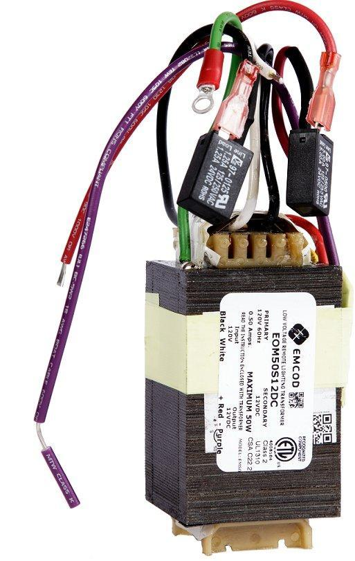 Emcod 12VAC transformer 120VAC 50 Watts out Class 2 EOM50S12AC Home & Garden > Pool & Spa EMCOD