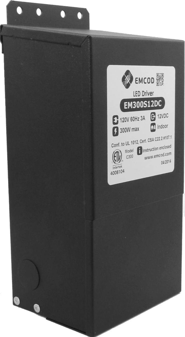 Emcod 12VAC transformer 300 Watts EM300S12AC Pool Safety Home & Garden > Pool & Spa EMCOD
