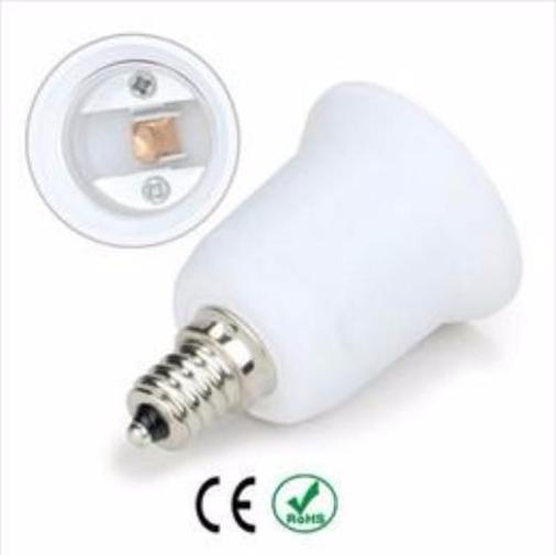Halogen LED Bulb E11 to E26 Mini Candelabra Adapter Spa Light Home & Garden > Lighting > Light Bulbs Pool Tone