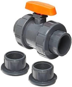 Hayward TB1150STE PVC BV,Union,Socket/FNPT,1-1/2 in Home & Garden > Pool & Spa Hayward Industrial Products