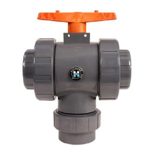 Hayward TW1300TE 3-Inch PVC TW Series 3-Way True Union Ball Valve with EPDM Seals Home & Garden > Pool & Spa Hayward Industrial Products