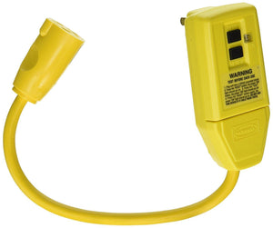 Hubbell GFP1C GFCI Plug, 15 amp, 120V, 1' Cord Hardware > Power & Electrical Supplies Hubbell