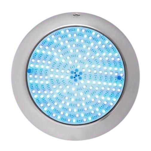 Pool Tone Small Color LED Nicheless Wall Mount Spa Light 12 or 120V 30-150 Foot Cord retro Home & Garden > Pool & Spa Pool Tone