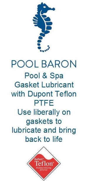 Pool Tone Swimming Pool Lubricant Gasket Grease Lube 8 oz Home & Garden > Pool & Spa Pool Tone