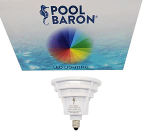 Pool Baron® 120V Color LED Upgrade Kit for Pentair® Aqualight® Spa 16 Colors T4 E11 1900 Lumens Home & Garden > Lighting > Light Bulbs Pentair