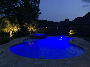 Pool Baron® Blue LED Bulb 12V MR16 2 Pin for Hayward® Astrolite II® Halogen Upgrade Home & Garden > Lighting > Light Bulbs Hayward