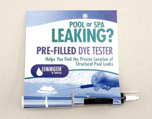 Pool Leak Finder Dye Test Blue or Fluorescent Yellow Home & Garden > Pool & Spa Anderson Manufacturing