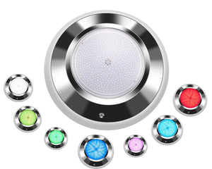 Pool Tone Color LED Nicheless Bottom or Wall Pond Fountain Light 12 or 120 Volts 30-150 Foot Cord Home & Garden > Pool & Spa Pool Tone 12 Volts 30 Feet