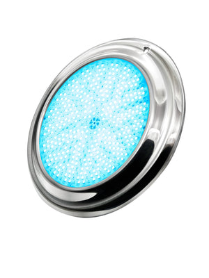 PoolTone 16 Color LED Pool Light 12 or 120 Volts SS Rim 15 - 150 FT (11 inch diameter) Home & Garden > Pool & Spa Pool Tone