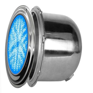 PoolTone 16 Color LED Pool Light 12 or 120 Volts SS Rim 15 - 150 FT 11 inch diameter Home & Garden > Pool & Spa PoolTone