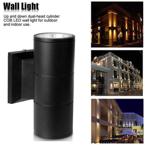 Waterproof Up Down Dual-Head Wall Light Lamp 6 Watt Cool White Home & Garden > Lighting > Lighting Fixtures Pool Baron