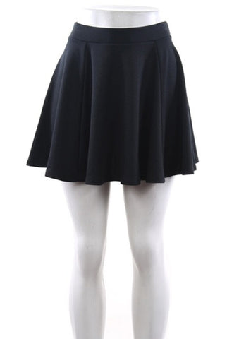 Flurt Black Skater Skirt