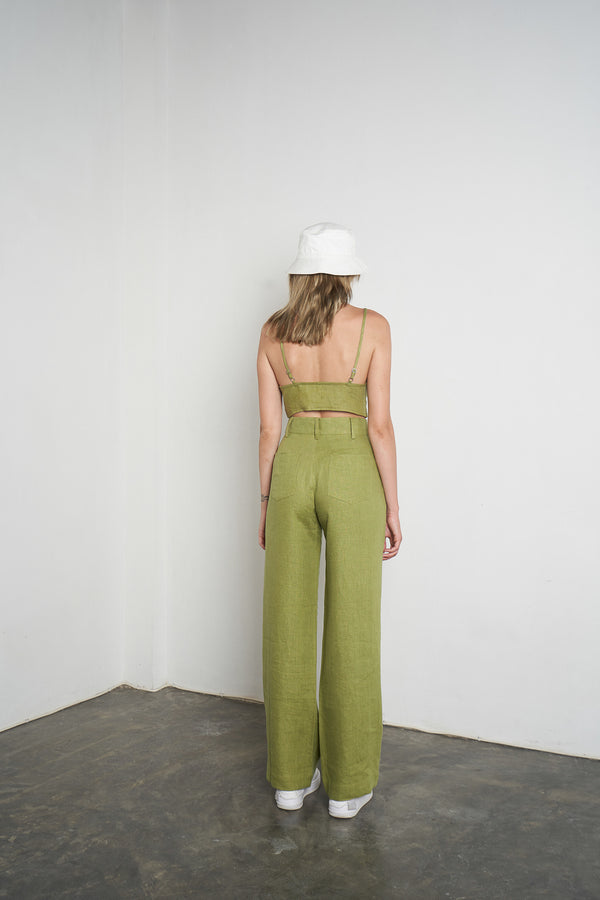 Tall Trouser in Apple