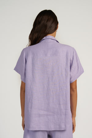 Box Shirt in Ultraviolet
