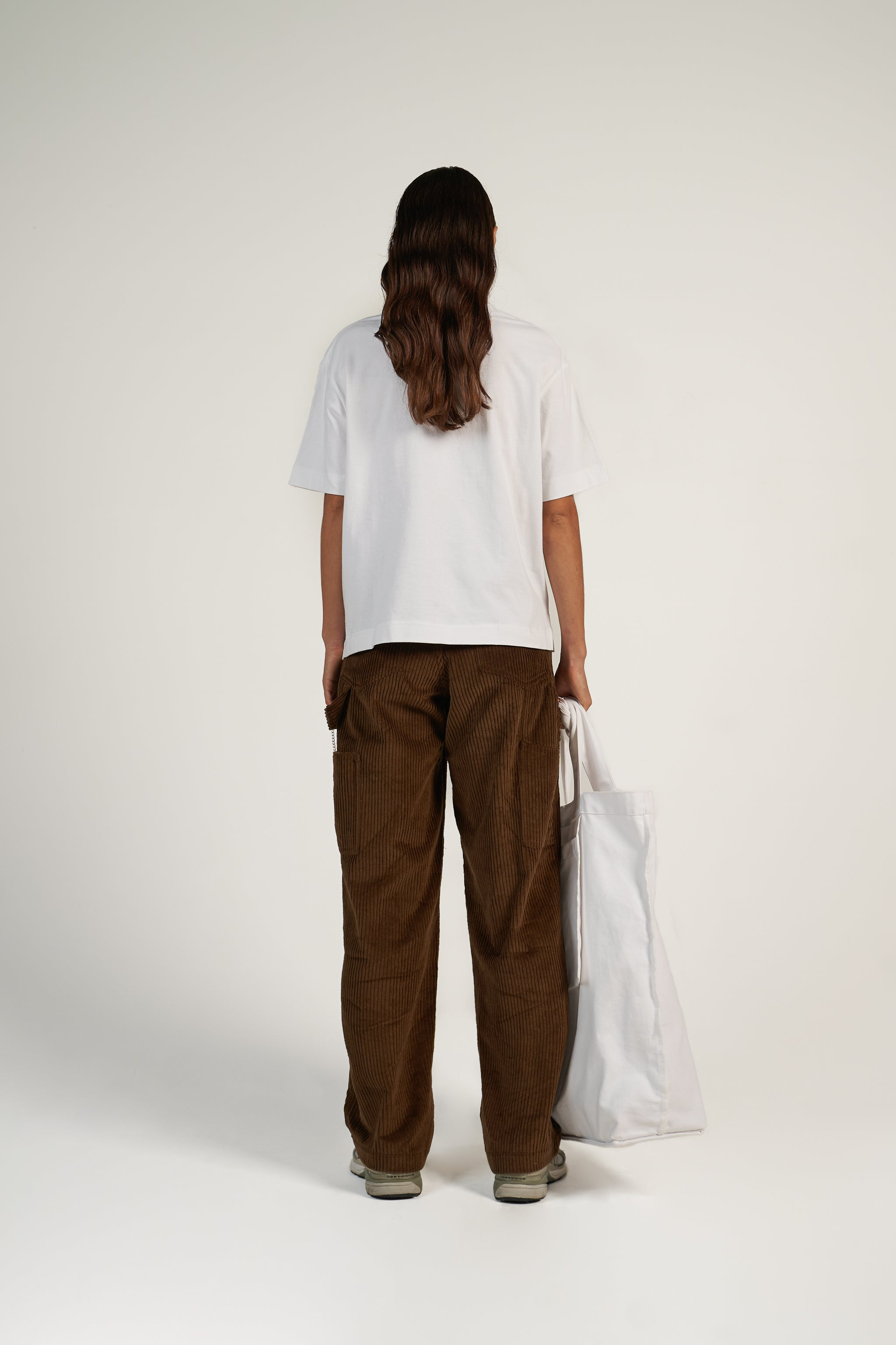 RELAXED WORKER PANT in Choccy