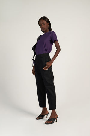 Mum Pant in Black