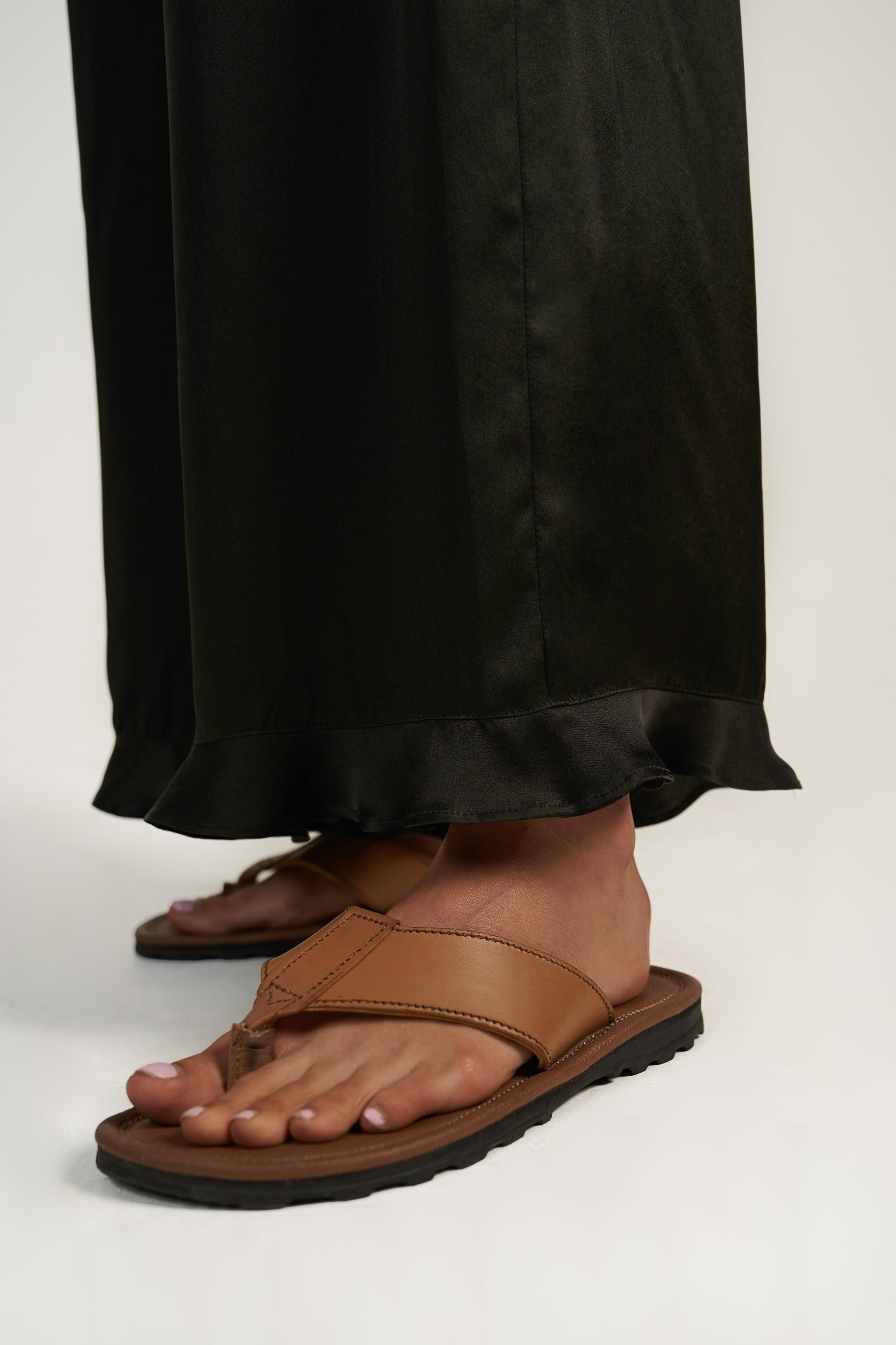 Baby Frill Culotte in Black