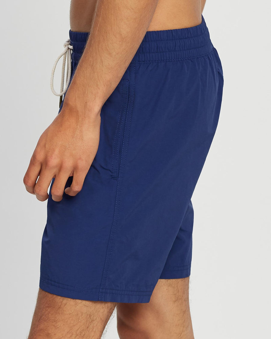 Men's Navy Beach Swim Short Wayver Originals
