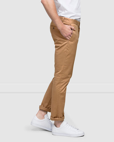 SLIM STRETCH CHINOS