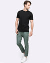 slim fit stretch chino pants men's wayver