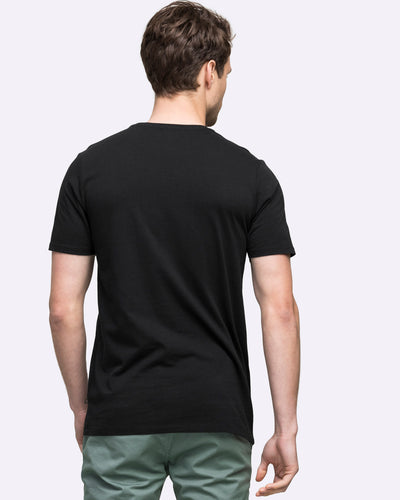 wayver tee shirt the iconic best seller black crew t-shirt