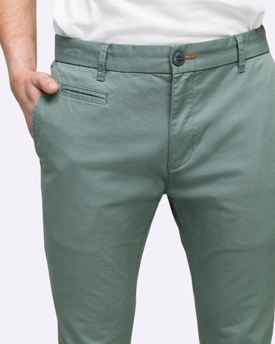 slim fit stretch chino pants men's