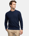 PREMIUM COTTON TEXTURED CREW KNIT