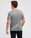 Wayver Everyday Grey Marl Crew T-Shirt