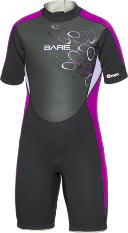 BARE 2mm Manta Shorty Wetsuit
