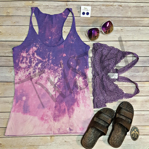 Ombre Washout Tank