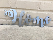 Load image into Gallery viewer, Custom Metal Script Words-Home Goods-Diamond in the rough-Gift, HomeGoods, Metal-Polished-Home-The Twisted Chandelier