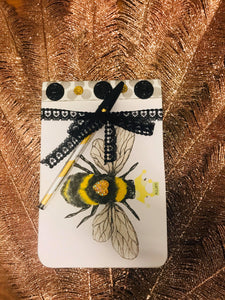 Half Comp Book-Home Goods-Crazy Crafty Ladies-Half Comp, Note Book, Note Pads-Bumblebee-The Twisted Chandelier